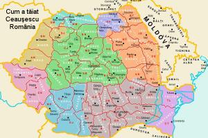 Organizarea teritorială în ţara lui Harcea-Parcea