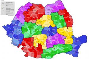 10 împărţiri pe regiuni care deja există şi funcţionează!