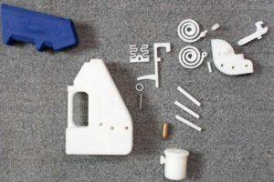 Cum arată un pistol scos la imprimanta 3D