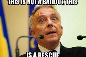"""""""Electorata"""" este diversiunea perfectă: Statul salvează băncile, victimele aplaudă"""