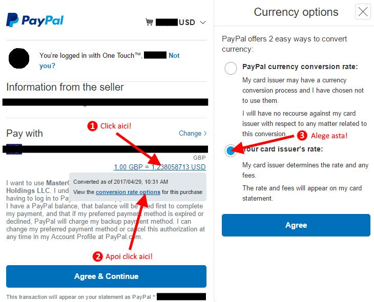 paypal currency options