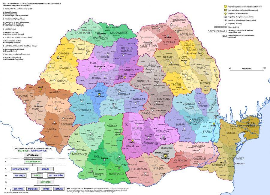 Organizarea Teritorială Secretă A Romaniei