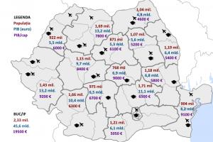 """Organizarea teritorială """"secretă"""" a României"""