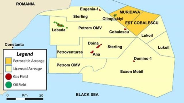 Care este cantitatea de petrol și gaze de sub Marea Neagră?